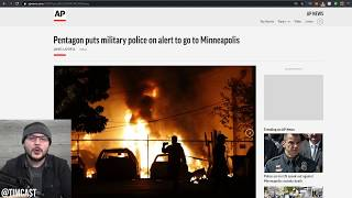 Pentagon Puts Military On Standby, Rioters Shoot Two Federal Officers, One Died, Prepare For More