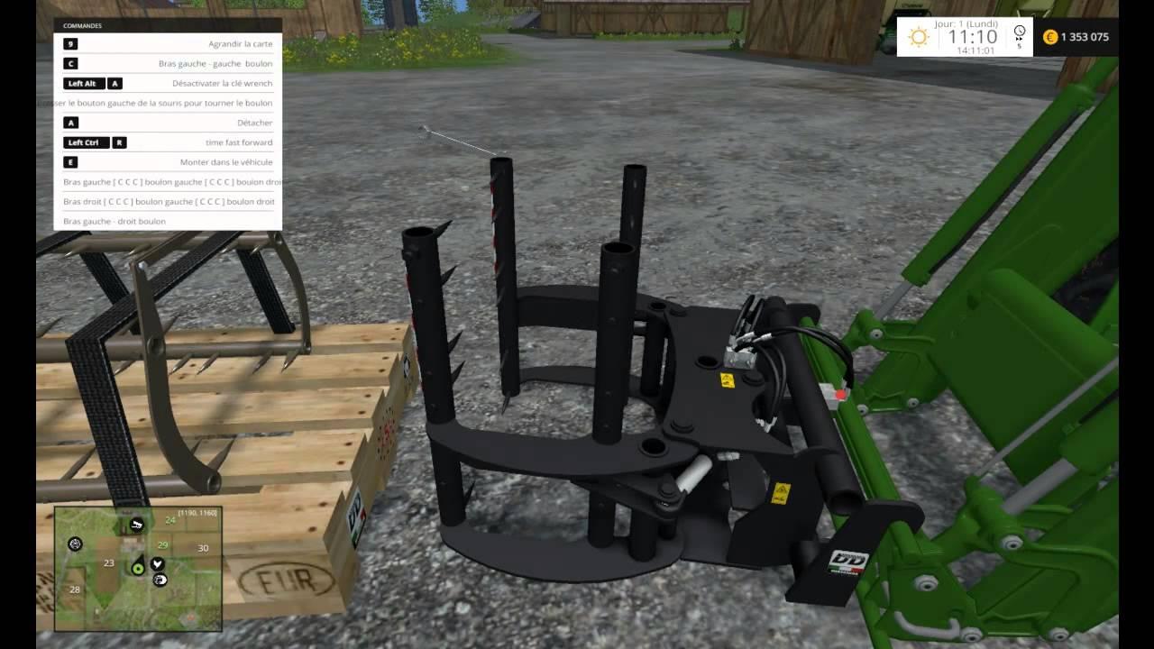 pr sentation de mods farming simulator 2015 pak d 39 outil. Black Bedroom Furniture Sets. Home Design Ideas