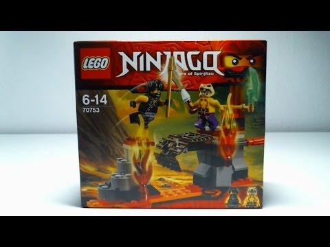 LEGO Live Construction : Ninjago's Lava Falls [Français]