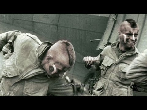 1944 - 90 Seconds Inside D-day - Color HD