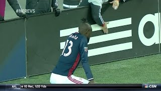Kei Kamara Gets a Yellow Card for TWERKING!! by : Major League Soccer