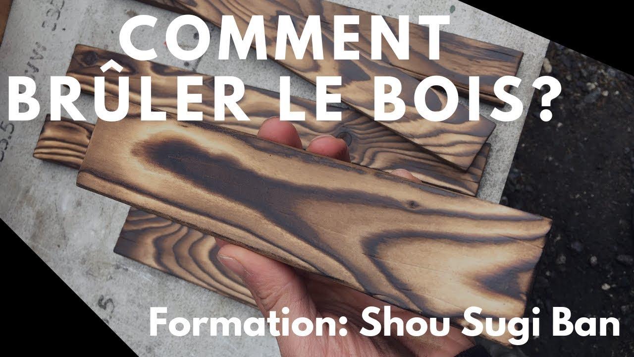 Comment Bruler Le Bois Sur Ses Creations Technique Du Shou Sugi