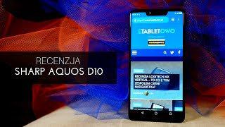 Recenzja Sharp Aqos D10 - test Tabletowo.pl