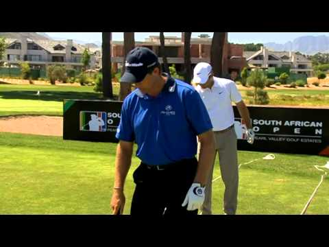 David Frost South Africa Golf Swing Clinic