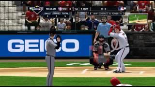 MLB 2K12 Atlanta Braves VS Washington Nationals