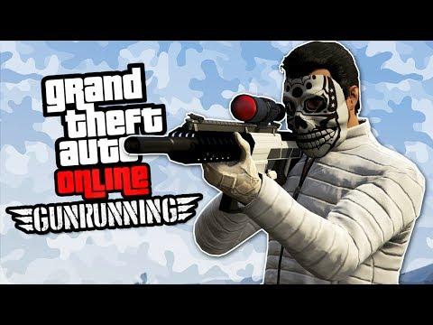 NEW THERMAL SCOPE TOO OP! - GTA 5 Online Gunrunning DLC