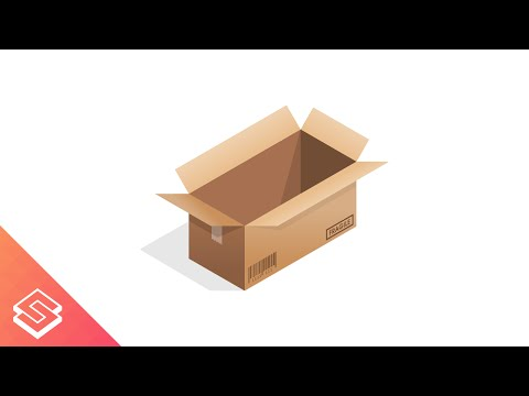 Inkscape for Beginners: Vector Cardboard Box & Barcode