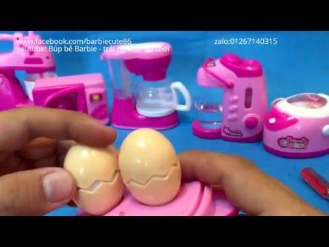 Đồ chơi mini đồ chơi trẻ em , đồ dùng cho trẻ . toy kitchen  dùng cho búp bê barbie vlog 57