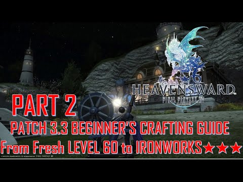 Ffxiv Crafting Guide Youtube