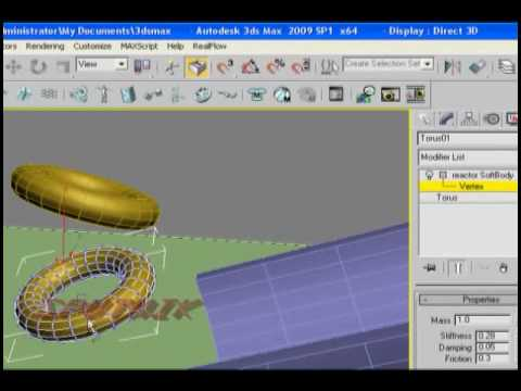 3ds max water reactor youtube.