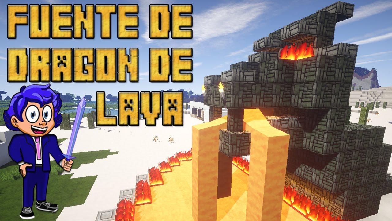 Fuente de drag n de lava tutoriales minecraft youtube for Blancana y mirote minecraft