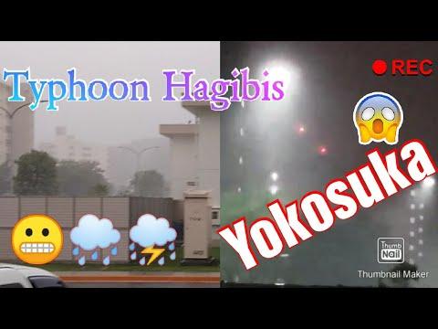 TYPHOON HAGIBIS/YOKOSUKA JAPAN/DURING Oct. 12, 2019 10:30 am - 6 pm