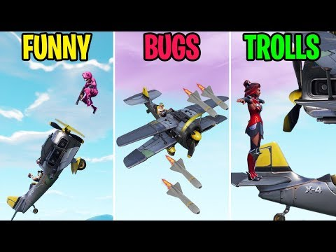 NEW X-4 STORMWING FUNNY MOMENTS! FUNNY vs BUGS vs TROLLS! Fortite Funny Moments thumbnail