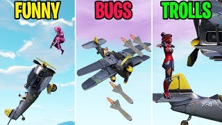 NEW X-4 STORMWING FUNNY MOMENTS! FUNNY vs BUGS vs TROLLS! Fortite Funny Moments
