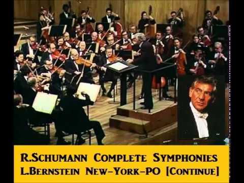 R.Schumann Complete Symphonies [ L.Bernstein New-York-PO ] (1960)