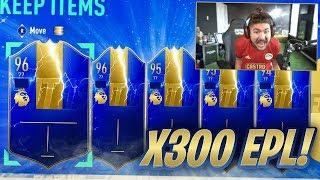 300 TOTS PACKS!! I PACKED 96 TOTS MANE!! FIFA 19
