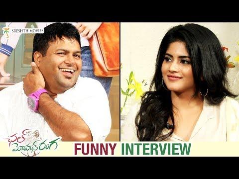 Megha Akash and Thaman S FUNNY Interview | Chal Mohan Ranga | Nithiin | Pawan Kalyan | Trivikram