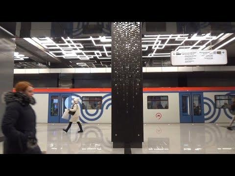 "От Солнцево до Парка Победы на электропоезде 81-765/766/767.3 ""МОСКВА"""