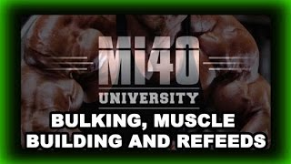 Bulking, Muscle Building,