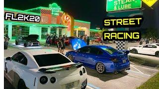 FL2K20 NIGHT STREET RACING!   900HP Supra, Hellcat, Z06, GT500, & MORE!