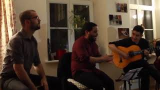 Flamenco Trio concert at Centro Picasso, in Tallinn, Estonia - 10/11/2018