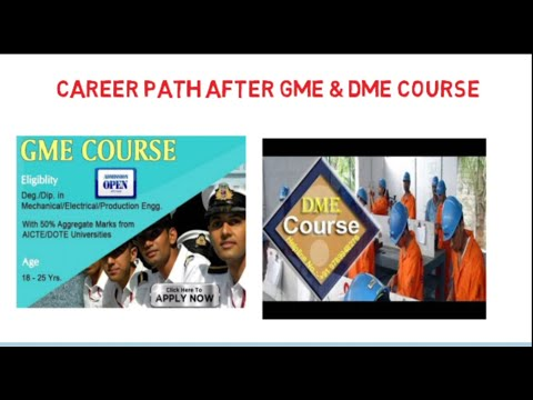 Career path after GME and DME | Work responsibility and promotion to Chief Engg