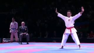 Damian Quintero vs Vu Duc Minh Dack. FINAL. 2016 European Karate Championships