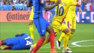 أهداف مباراة فرنسا ورومانيا 2-1 || يورو 2016 تعليق عصام الشوالي (10/06/2016) جودة عالية HD