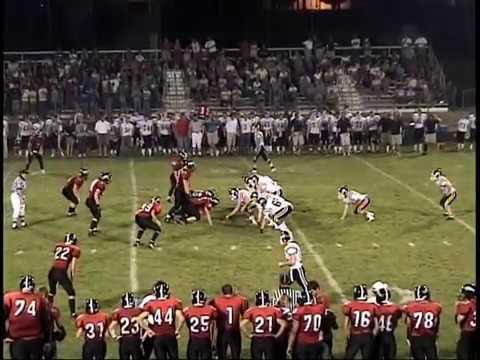 Ryan Hitchcock High School Football Highlights (2006)