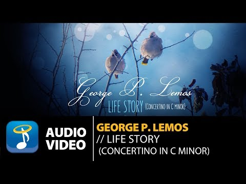 George P. Lemos - Life Story | Concertino In C Minor (Official Audio Video)