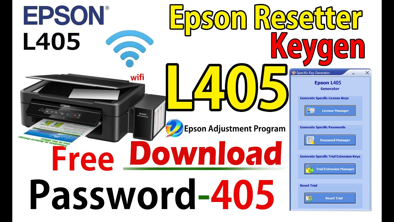 EpsonL405 resetter adjustprogram cracked winrar file call - 9630716386