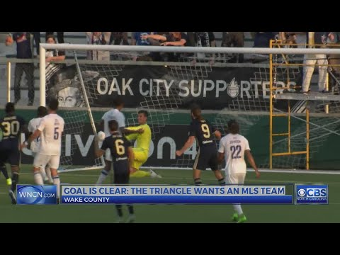 Major League Soccer execs to tour 2 NC cities for new team location