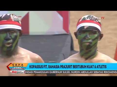 Kopassus Fit live di Kompas TV