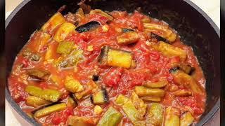 Kışlık domates soslu sebze kızartması- Patlıcan ve kabak kızartması saklama yöntemi- Ev Lezzetleri