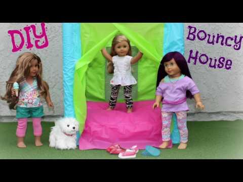 DIY American Girl Doll Bouncy House