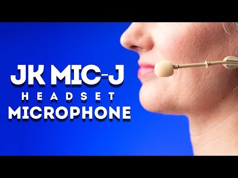 JK Mic-J 069 Headset Microphone: Cheap Headset Mic for Recording in Noisy Places