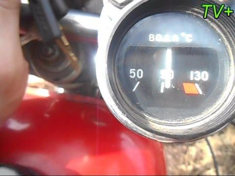 подключение датчика температуры 2106