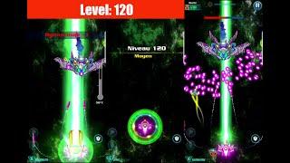WALKTHROUGH Level 120 ALIEN SHOOTER [Campaign] GALAXY ATTACK: Best Arcade Shoot up Game Mobile screenshot 5