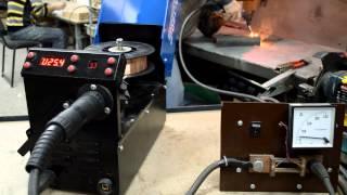SSVA-180P - сварка 50 уголка(На видео показа работа SSVA-180P в режиме полуавтомата проволокой 0.8 мм, свариваемая поверхность 50 уголок Купит..., 2015-02-28T10:36:53.000Z)