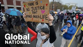 Global National: April 21, 2021 | Black teen shot by Ohio police amid historic Chauvin verdict