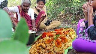 Prawns Biryani | Quick and Easy Shrimp Biryani | 106 Years old Mastanamma