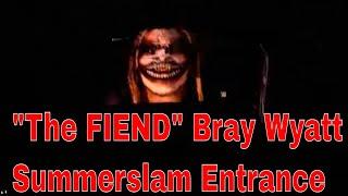 The Fiend Bray Wyatt Entrance LIVE Stadium REACTION!! SUMMERSLAM 2019