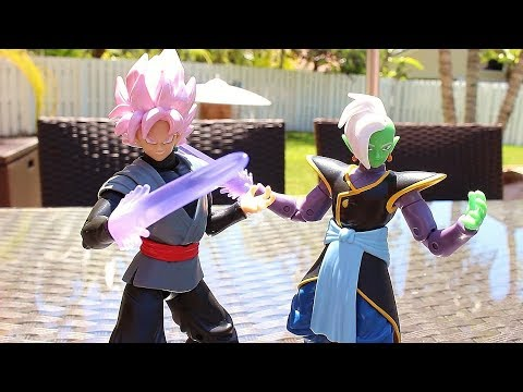 Dragon Ball Super Figure Review - Dragon Stars Series 4 Goku Black & Zamasu