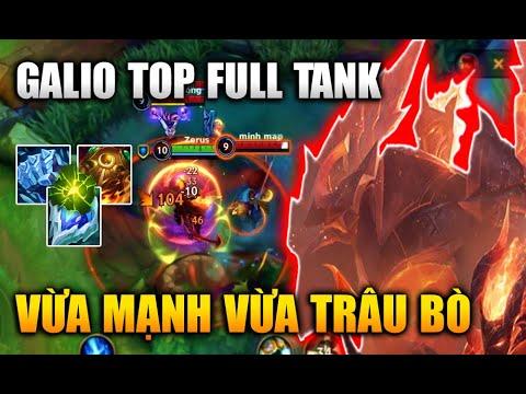 [LMHT Tốc Chiến] Galio Top Full Tank Vừa Mạnh Vừa Trâu Bò Trong Liên Minh Tốc Chiến