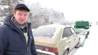 Переправили Москвич В Деревню