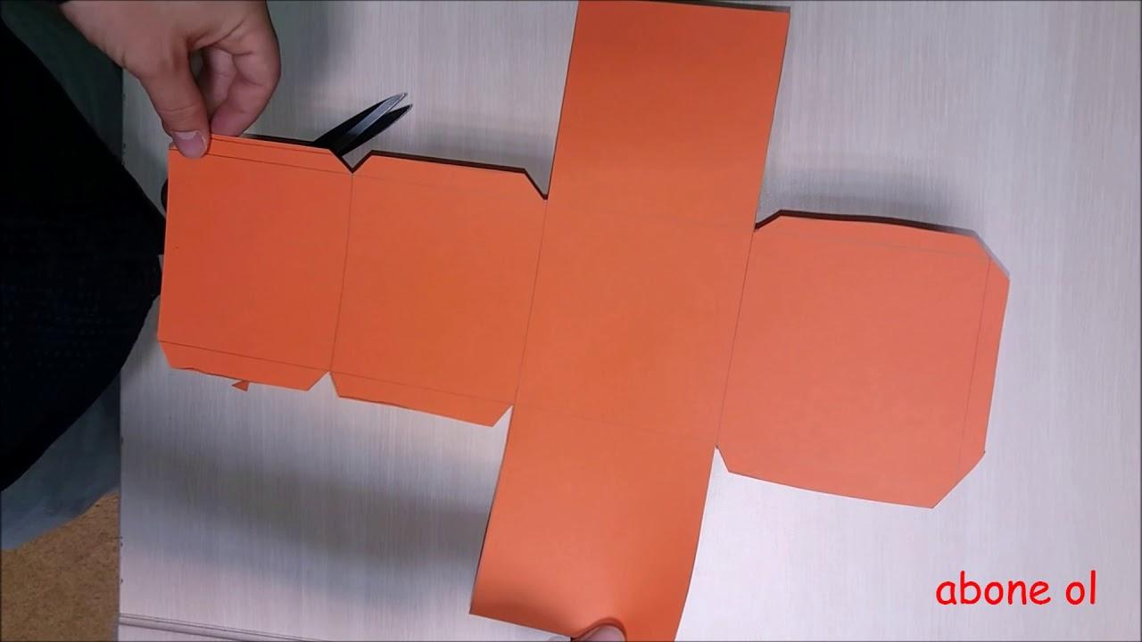 Küp Yapilişi Ve Küpün Açilimi Küp Nasıl Yapılır How Make To Cube