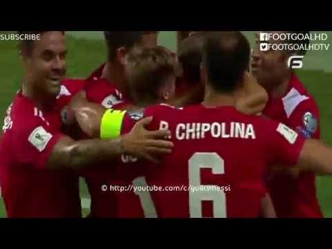 Liam Walker Fantastic Goal   Gibraltar vs Greece 1-1   06 9 2016 World Cup Qualification