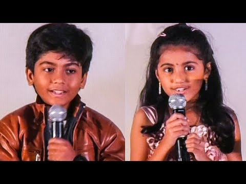 Theri Baby Nainika's Cho Sweet Speech | TN...