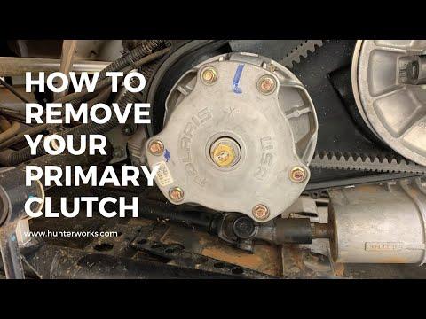 How to Remove Polaris RZR/Ranger Primary Clutch