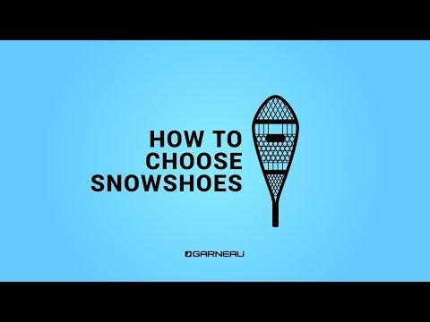 How To Choose Snowshoes | Garneau's Snowshoes